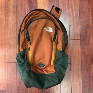 North Face Vault Backpack Orange